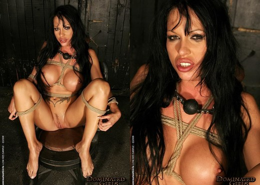 Dominated Girl Cony Ferrara Fucked Up the Asshole - BDSM Nude Pics
