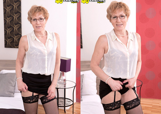 In Any Language, Georgina's An Old Slut - 40 Something Mag - MILF Image Gallery