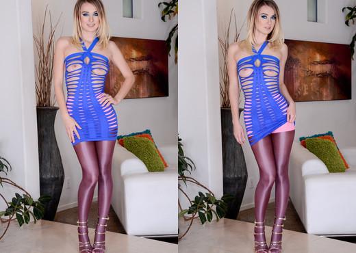 Natalia Starr - Natalia: Anal 'Ho In Sheer Hose - Ass TGP