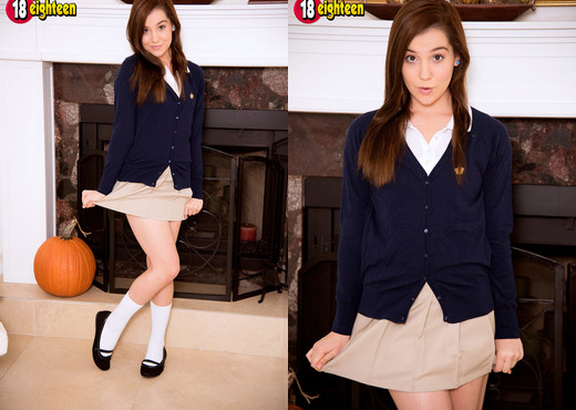 Kasey Warner - Slutty Student - 18eighteen - Teen TGP