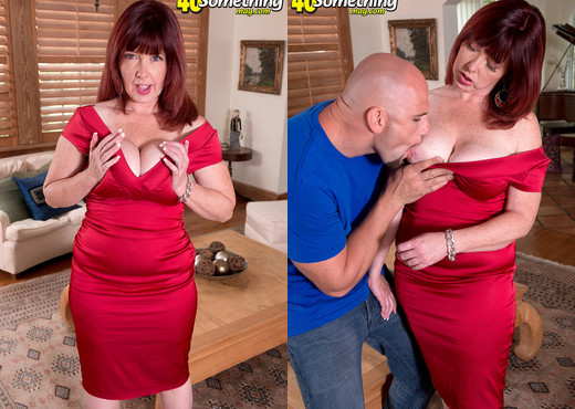 Heather Barron - A Big Cock For Heather's Virgin Asshole - MILF TGP