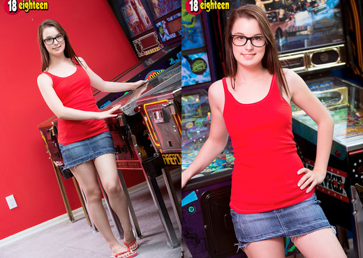 Aeris - Pinball Pussy - 18eighteen - Teen Sexy Gallery