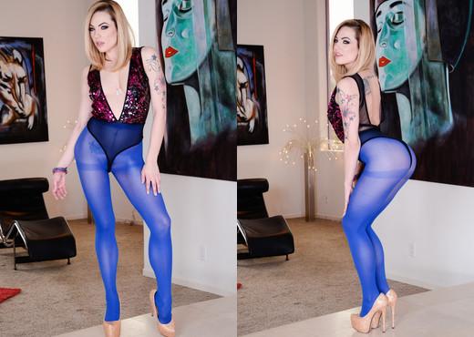 Dahlia Sky - Dahlia: Anal 'Ho In Sexy Hose - Solo HD Gallery
