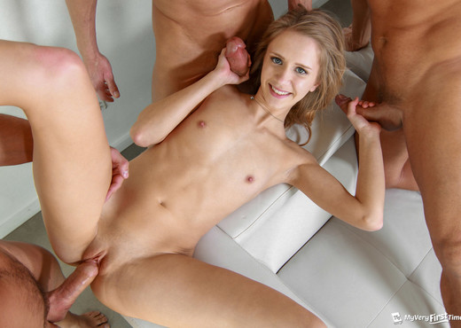 Rachel's First Gangbang - My Very First Time - Hardcore Sexy Photo Gallery