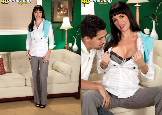 Angie Noir - Angie's Creamed Pie - 40 Something Mag - MILF Image Gallery