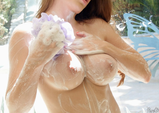 Veronica Vain - After Work Shower - Pure Mature - MILF Nude Gallery