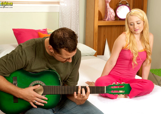 Nina Nelson - Strummin' Cummin' - 18eighteen - Teen Hot Gallery