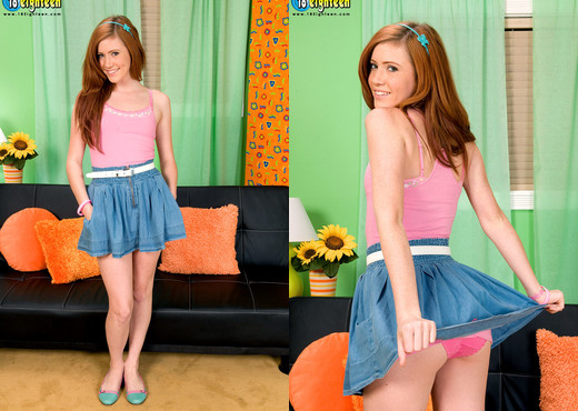 Elle Alexandra - Ginger Flattie - 18eighteen - Teen Picture Gallery