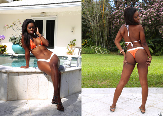 Simone Styles - Booty Watch - Round And Brown - Ebony TGP