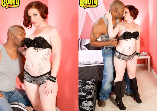Emily Eve - Creamsicle Cutie - Bootylicious Mag - Interracial Picture Gallery
