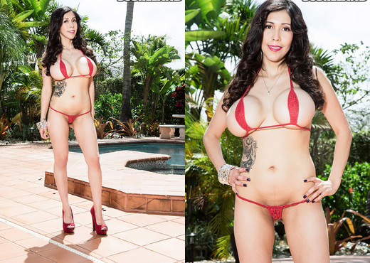 Vee VonSweets - Sweet Bikini Girl - ScoreLand - Boobs Porn Gallery