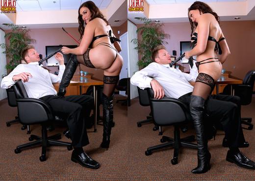 Raven LeChance - Obey The Mistress - Leg Sex - Feet Porn Gallery