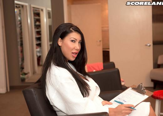 Nadia Villanova - Oral Examination - ScoreLand - Boobs Picture Gallery