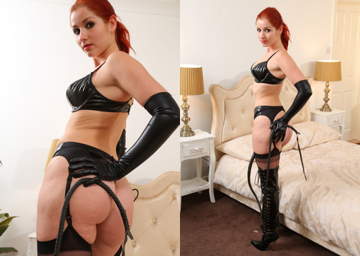 Harley Pvc Lingerie - Strictly Glamour - Solo Sexy Photo Gallery