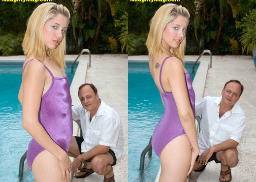 Chrissie Summers - On Your Back Stroke - Naughty Mag - Amateur Picture Gallery