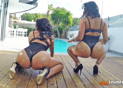 Kesha Ortega - Ass Sisters - Hardcore Nude Pics