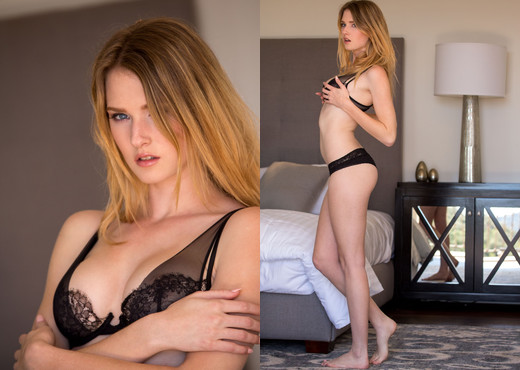 Ashley Lane Strips And Shows Off Her Pristine Body - Solo Sexy Gallery