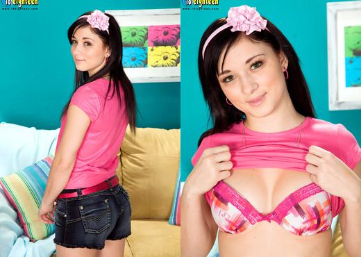 Mandy Sky - Bubble Butt - 18eighteen - Teen Sexy Photo Gallery