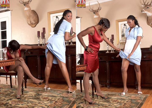 Stacy Adams, Jade Skye - Mocha Mistress And Servant - Feet Hot Gallery