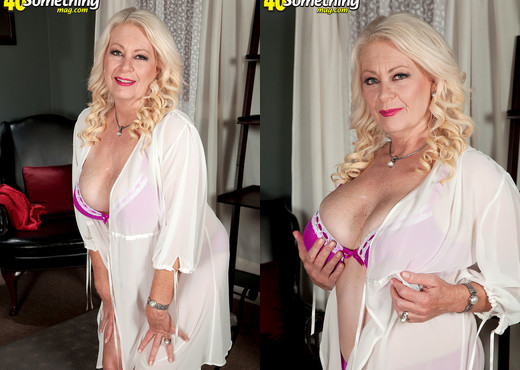 The Two Sides Of Angelique Dubois - 40 Something Mag - MILF Porn Gallery
