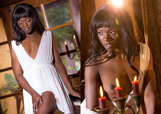 Ana Foxxx - Digital Desire - Ebony HD Gallery