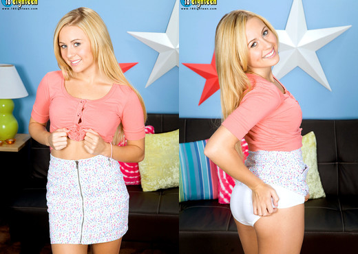 Mae Meyers - Dirty Dimples - 18eighteen - Teen Picture Gallery