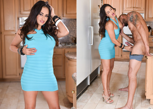 Claudia Valentine, Karlo Karrera & Audrey Holiday - Blowjob Hot Gallery