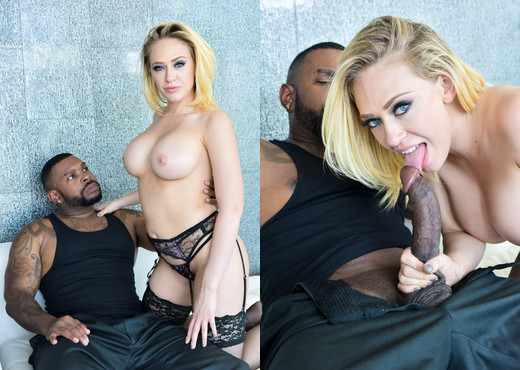 Rico Strong & Kagney Linn Karter - DarkX - Interracial Hot Gallery