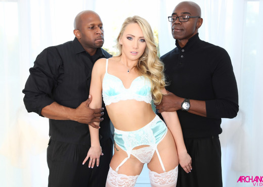 AJ Applegate First IR Anal & IR DP - Arch Angel - Interracial TGP