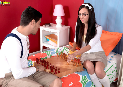 Roxanne Rae - Fuck Chess - 18eighteen - Teen Image Gallery