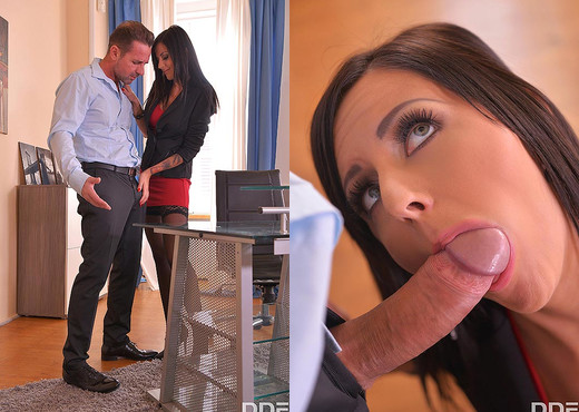 Relaxation Penetration: Fucking The Secretary At The Office - Hardcore Image Gallery