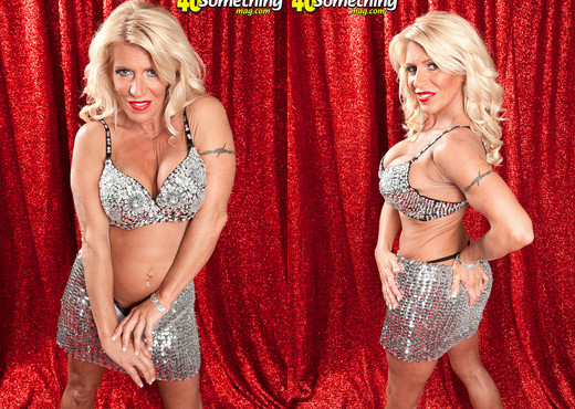 Gina West - Cirque Du Gina - 40 Something Mag - MILF Image Gallery