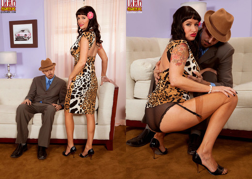 Angie Noir - Retro Tramp - Leg Sex - Feet Hot Gallery