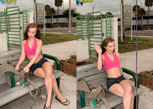 Sophia Sutra - Going For A Ride - 18eighteen - Teen TGP