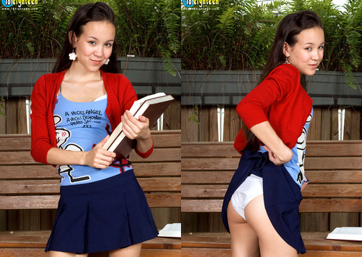 Amai Liu - Ace In Braces - 18eighteen - Teen Image Gallery