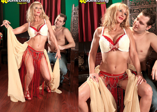 Opal Reins - Belly Dancing For Your Cum - 40 Something Mag - MILF HD Gallery