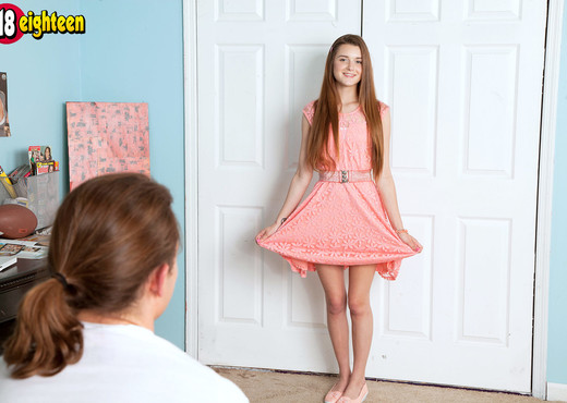 Alex Mae - Flat & Juicy - 18eighteen - Teen Image Gallery