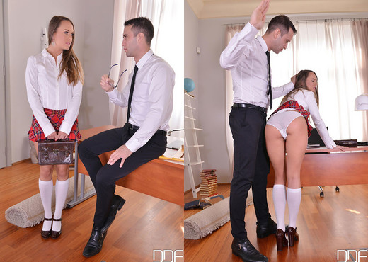 Bondage & Spanking As Higher Education - Blue Angel - Hardcore Porn Gallery