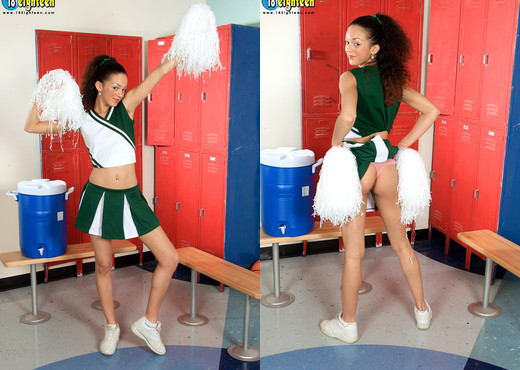 Mercedes Liana - Cheer Squad Slut - 18eighteen - Teen Hot Gallery