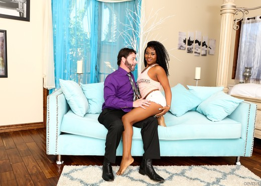Charlie Rae - My New White Stepdaddy #16 - Ebony HD Gallery