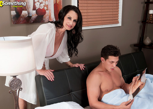 Rita Daniels - Rita And Her Son's Big-dicked Friend - MILF Sexy Gallery