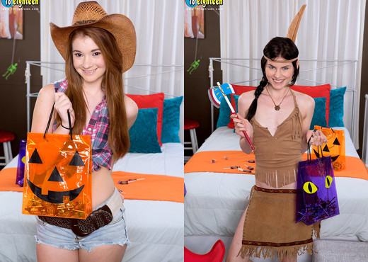 Heather Night, Ava Sparxxx - Happy Halloween! - Naughty Mag - Amateur Picture Gallery