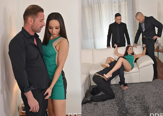 Boozed Up - Three Studs Double Penetrate Brunette Russian - Hardcore Picture Gallery