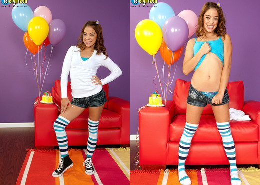 Gigi Rivera - Birthday Surprise - 18eighteen - Teen HD Gallery