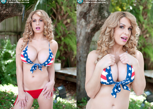 Alyssa Lynn - 4th Of July - ScoreLand - Boobs TGP