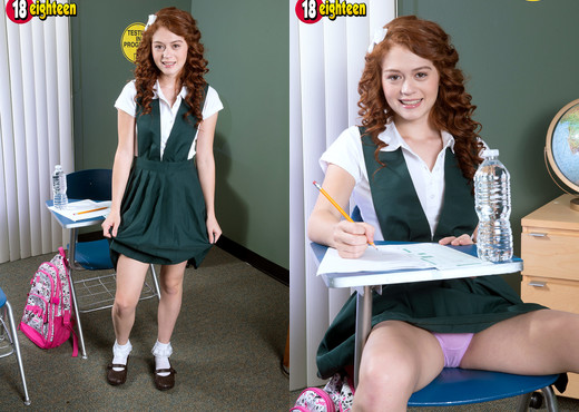 Alice Green - Ginger Cookie - 18eighteen - Teen Sexy Gallery