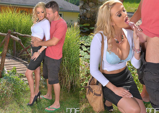 A Milf's Wet Dream - Stud Blows Cum All Over Her Pussy - Hardcore Picture Gallery