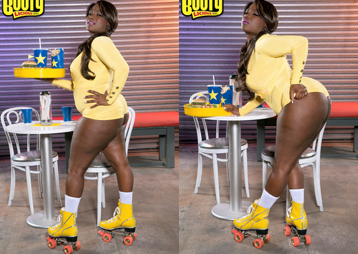 Stacy Love - Lovin' Buns For Lunch - Bootylicious Mag - Ebony Sexy Gallery