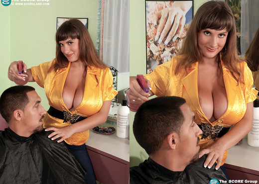 Valory Irene - Hairdresser With Hooters - ScoreLand - Boobs Hot Gallery