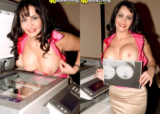 Valery Lopez - Uber-sexy Secretary - 40 Something Mag - MILF Porn Gallery